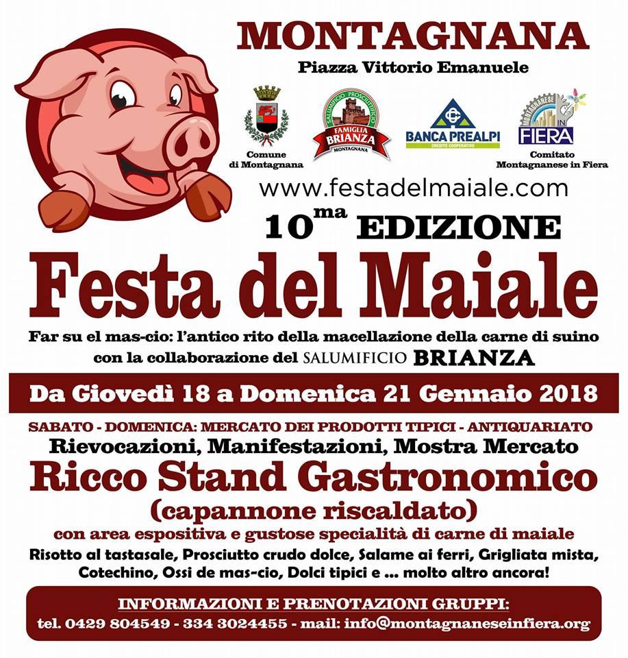 Sant'Antonio Abate e festa del maiale