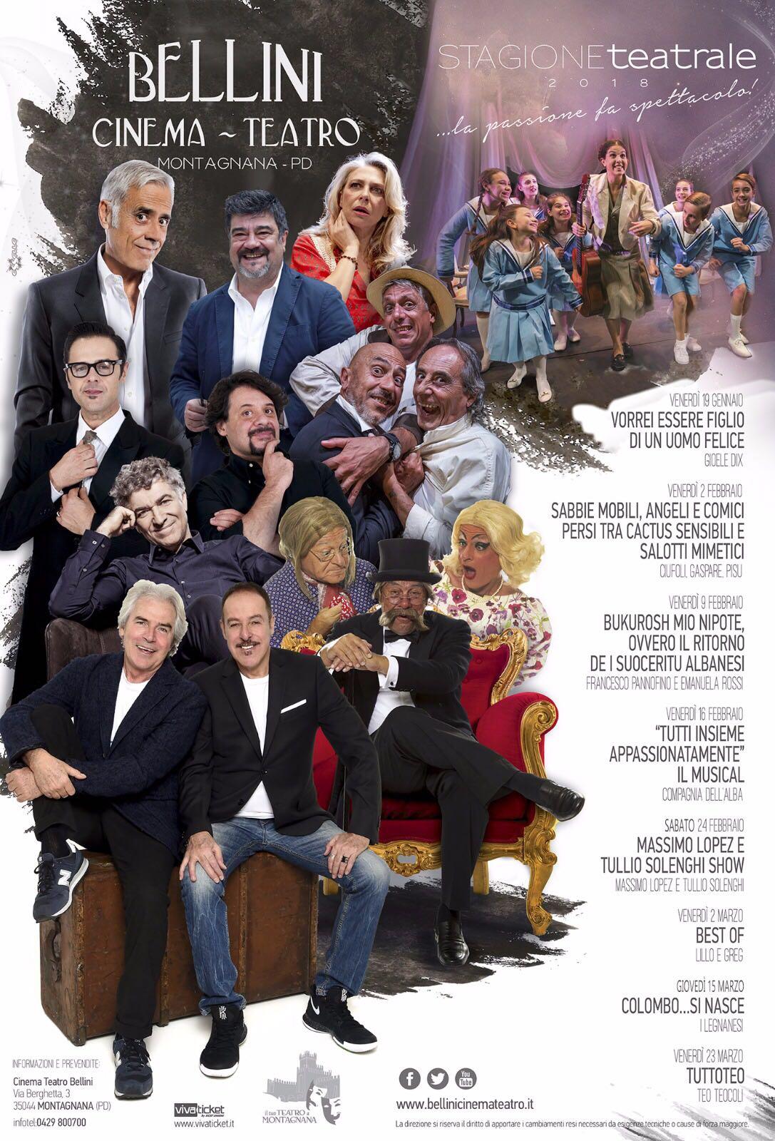 Grandi nomi e grasse risate a teatro